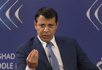 Mohammed Dahlan, Member of the Palestinian Legislative Council and Leading Member of the Fatah Party